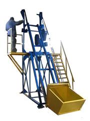 Скиповый погрузчик для подъема сыпучих грузов